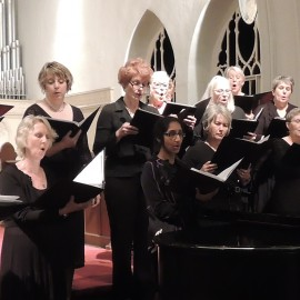 Singing at Emmanuel Episcopal in 2015